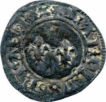 Charles VII, denier tournois, Toulouse