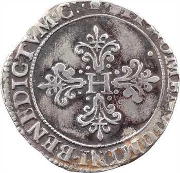 Henri III, franc au col fraisé, 1583 Toulouse