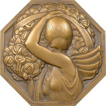Turin (P.) : la Porteuse de fleurs, offert par la ville de Menton, s.d. (1949) Paris
