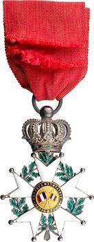 France, Monarchie de Juillet, Légion d'Honneur en or et argent