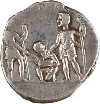 Veturia, denier, Rome, 137 av. J.-C