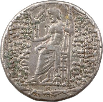 Syrie, Antioche, Aulus Gabinus, tétradrachme syro-phénicien au nom de Philippe Philadelphe, c.57-55 av. J.-C