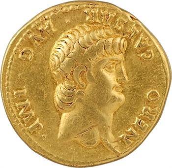 Néron, aureus, Lyon, 63-64