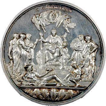 Royaume-Uni, Victoria, médaille du Jubilée, 1887