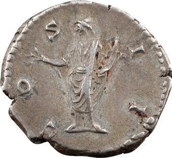 Marc Aurèle César, denier, Rome, 145-147