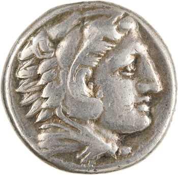 Macédoine, Philippe III Arrhidée au nom d'Alexandre le Grand, tétradrachme, Macédoine/Amphipolis, c.323-320 av. J.-C