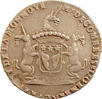 Auvergne, Riom (ville de), De Combe, prévôt de la Monnaie, 1693 Paris