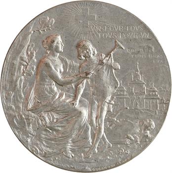 Suisse, Genève, Exposition Nationale Suisse, par Hantz, 1896