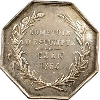 Second Empire, Comptoir d'escompte de Caen, 1854