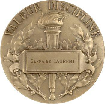 Prud'homme (G.-H.) : Maréchal Foch, valeur discipline, en argent, s.d. Paris