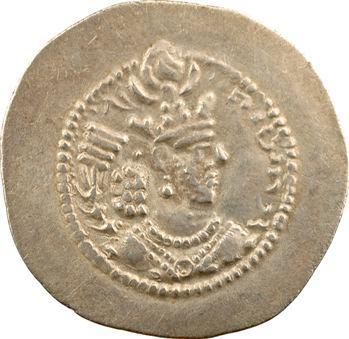 Royaume Sassanide, Barhram V, drachme, Ganzak (?), c.430 (=An 10 ?)