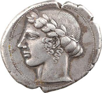 Sicile, Léontini, tétradrachme, c.440-430 av. J.-C.