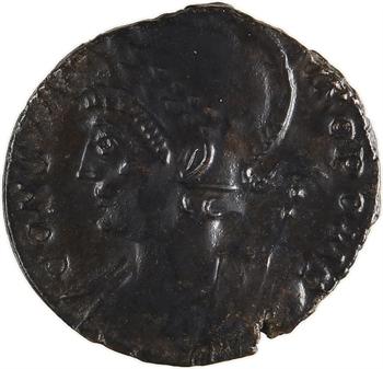 Constantinopolis, nummus, Trèves, 332-333
