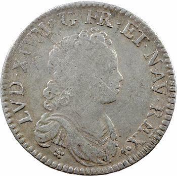 Louis XV, demi-écu dit vertugadin, 1717 Amiens