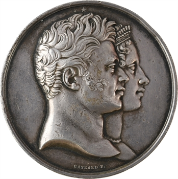 Duc et duchesse de Berry, naissance du duc de Bordeaux, 1820 Paris