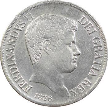 Italie, Deux-Siciles (royaume des), Ferdinand II, 120 Grana, 1836 Naples