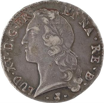 Louis XV, écu au bandeau du Béarn, 1768 Pau