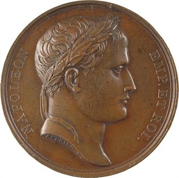 Premier Empire, mariage de Jérôme Napoléon et Catherine de Würtemberg, par Andrieu, 1807 Paris variété de signature