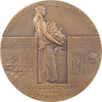Algérie/Tunisie, cinquantenaire Crédit Foncier d'Algérie et Tunisie, 1930 Paris
