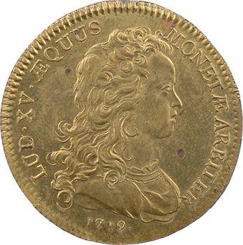 Normandie, Rouen (ville de), monnoyeurs de Rouen, Louis XV, 1719