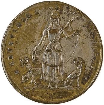 Louis Philippe Ier, apparition de la Vierge à Alphonse Ratisbonne en 1842, vers 1845 Paris