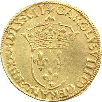 Charles IX, écu d'or au soleil, 1572 Paris
