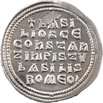 Basile Ier et Constantin, miliaresion, Constantinople, 868-870