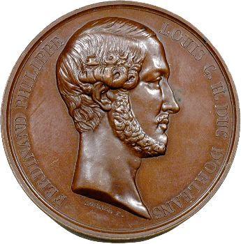 Algérie, Louis-Philippe Ier, hommage de l'Armée au duc d'Orléans