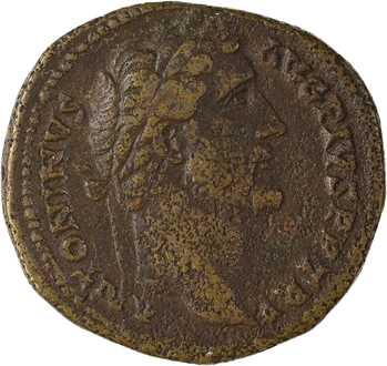 Antonin le Pieux, sesterce, Rome, 145-161