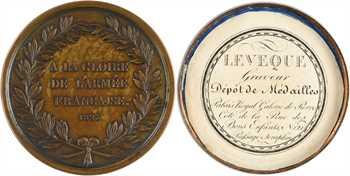 Duc d'Angoulême, gloire de la Guerre d'Espagne, médaille-boîte, 1823