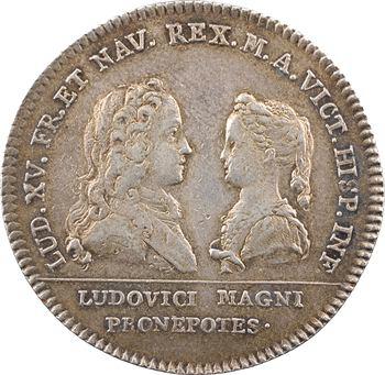 Louis XV, fiançailles avec Marie-Anne-Victoire infante d'Espagne, 1721 Paris
