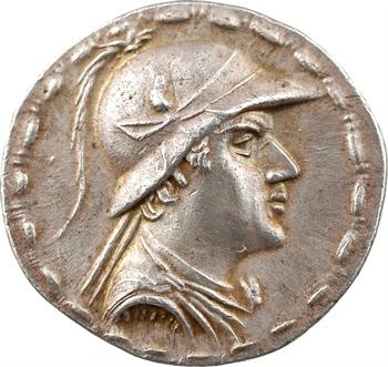 Bactriane, Eucratide, tétradrachme, 171-135 av. J.-C.