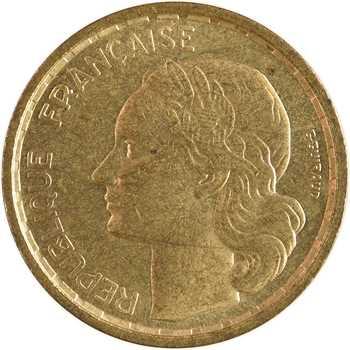 IVe République, essai de 10 francs Guiraud, 1950 Paris