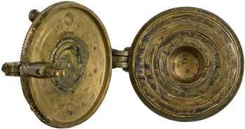 Pile à godet de 4 marcs (2 livres), Nuremberg, bronze