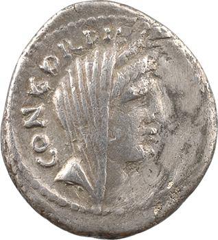 Mussidia, denier, Rome, 42 av. J.-C.