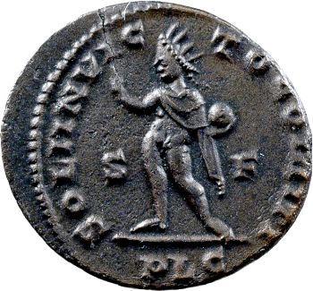 Constantin Ier, follis, Lyon, 313-314
