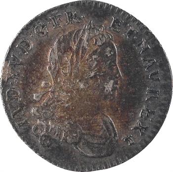 Louis XV, pièce de X sols de Navarre, 1719 Lyon