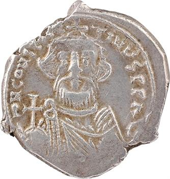 Constant II, hexagramme, Constantinople, 641-668
