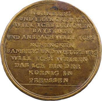 Allemagne, Prusse, Frédéric II, la Guerre de Sept ans, 1759 Berlin