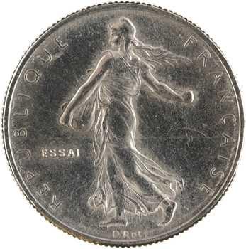 Ve République, essai du 1/2 franc Semeuse, 1965 Paris