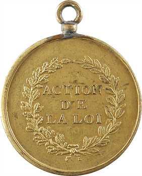 Second Empire, Action de la Loi, par Maurisset, s.d. Paris