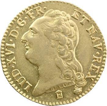 Louis XVI, louis d'or à la tête nue, 1785 Bordeaux