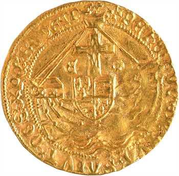 Angleterre, Édouard IV, ange d'or, s.d. (c.1477-1480) Londres
