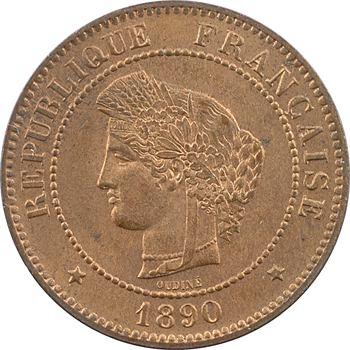 IIIe République, 5 centimes Cérès, 1890 Paris