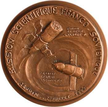 Espace, la mission scientifique franco-soviétique et les premiers spationautes français, par Véry, N° 5/110, 1983 Paris