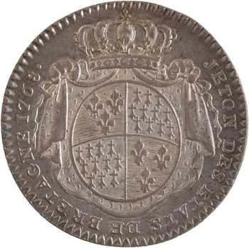 Louis XVI, les États de Bretagne, 1768 Paris