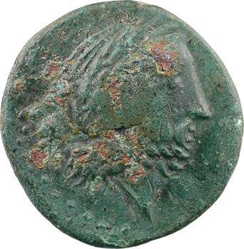 Calabre, Hipponion, bronze AE23, c.340-300
