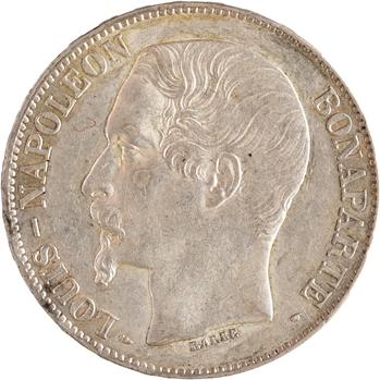 IIe République, 5 francs LNB, 1852 Paris
