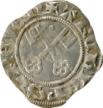 Allemagne, Trèves (archevêché de), Baudouin de Luxembourg, 1/2 shilling, s.d. Trèves