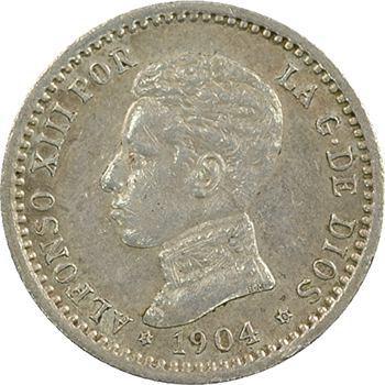 Espagne, Alphonse XIII, 50 centimes, 1904 Madrid